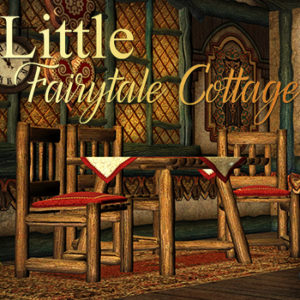 Little Fairytale Cottage Backdrops