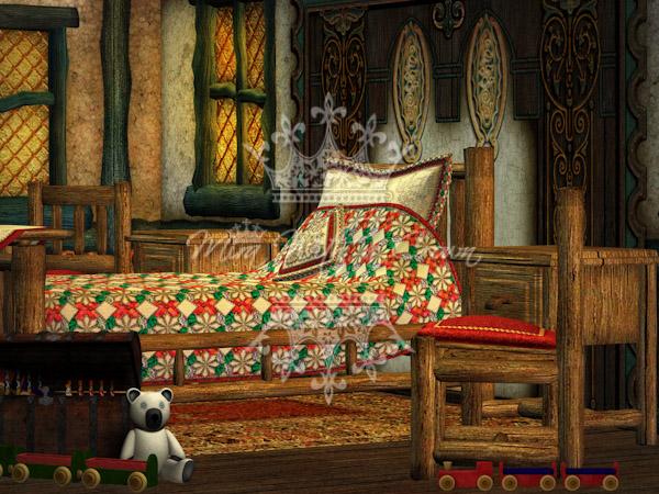 Little Fairytale Cottage Backgrounds