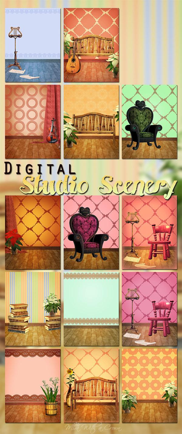 Digital Studio Scenery
