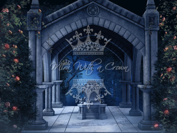 Blue Gothic Backgrounds