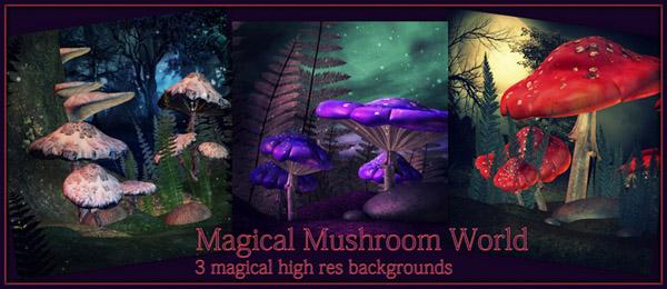 Free digital fantasy backgrounds